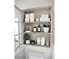 Bathroom storage ideas Video