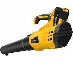 Battery powered blower reviews Video