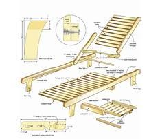 Beach chair wood plans Video