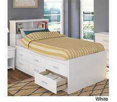 Bed designs with headboard storage Video
