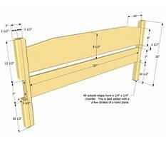 Bed headboard woodworking plans.aspx Video