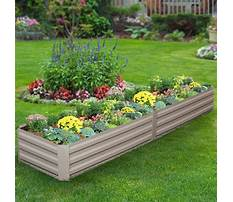 Bed planters Video