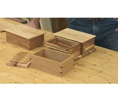 Beginner woodworking box projects Video