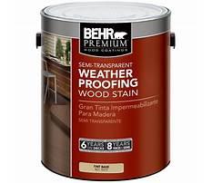 Behr weatherproofing wood stain.aspx Video