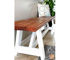 Bench diy project Video