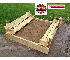 Bench sandbox plans Video