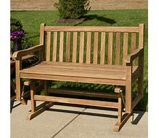 Benches for outdoor use Video