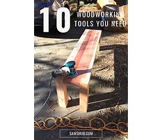 Best woodworking tools to own Video