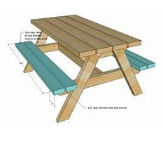 Big kids picnic table plans Video