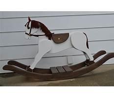 Big wooden rocking horse Video