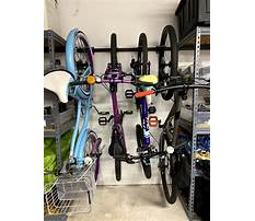 Bike racks garage storage Video