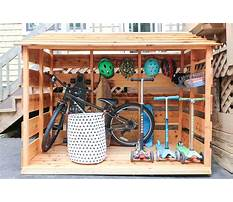 Bike storage shed diy Video