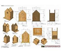 Bird house plan Video