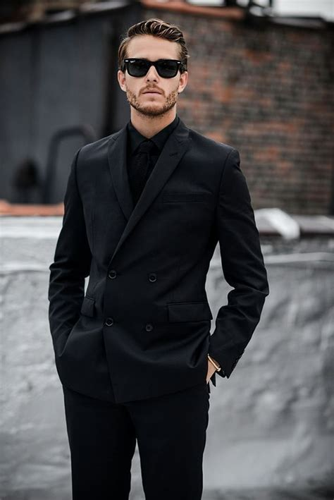 Black Men Fashion Suits