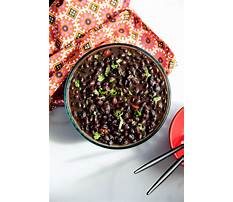 Black beans and paleo diet Video