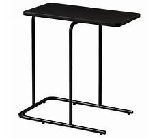 Black side table ikea Video