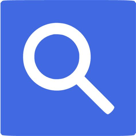 Blue Button From Google Search