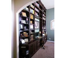 Bookcase desk wall unit Video