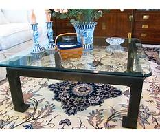 Brass coffee table makeover Video