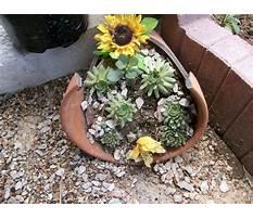 Broken pot planters Video