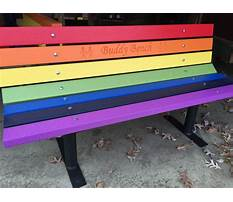 Buddy bench wood plans Video