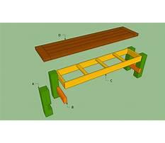 Build a bench plans.aspx Video