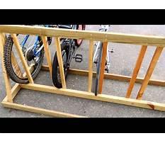 Build a bicycle rack wood Video