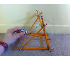Build a catapult with pencils Video