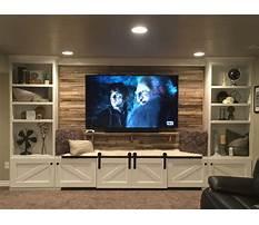 Build a home entertainment center Video
