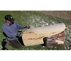 Build a log chair Video