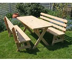 Build a picnic table with detached benches.aspx Video