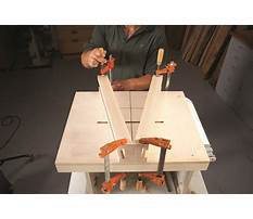Build a router table fence.aspx Video