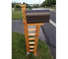 Build a wooden mailbox.aspx Video