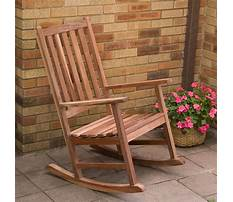Build a wooden rocking chair Video