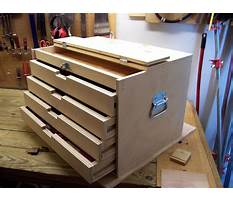Build a wooden tool cabinet Video