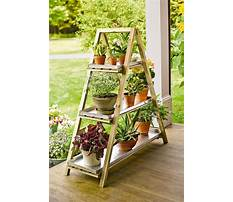 Build an outdoor plant stand Video