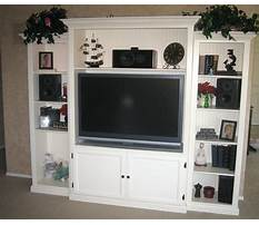 Build it yourself entertainment center Video