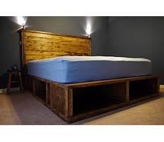 Build queen bed platform Video