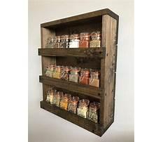 Build wood spice rack Video