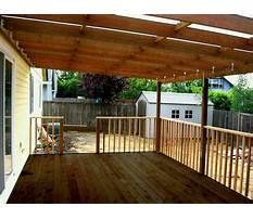 Building a deck roof.aspx Video