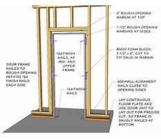 Building a door frame.aspx Video