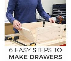 Building a drawer with slides Video