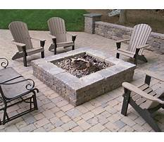 Building a paver patio and firepit Video