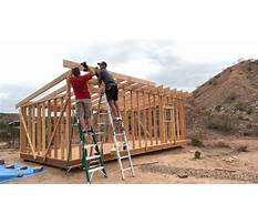 Building a shed roof Video