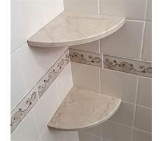 Building a shower corner shelf Video