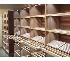 Building humidor cabinet Video