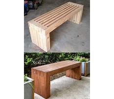 Building indoor benches Video