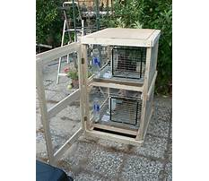 Building outdoor rabbit hutch.aspx Video