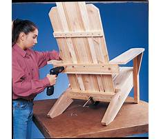Building plans for adirondack furniture Video