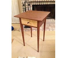 Building shaker end table Video